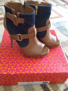 Tory Burch Ankle Boots Brand New with Price Size 7 5 | eBay
