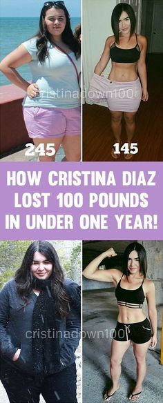 Cristina Diaz Insane Transformation Losing 100 Pounds In One Year!