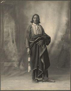 Pablino Diaz, Kiowa Rinehart, Frank A. (photographer) 1899