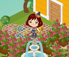 I get cloth in ameba pigg life I haven't do ameba pigg life for a long time. so i decide to get cloth in this 2nd aniversary event. I plant and grow up rose everyday. but It was not appear blue rose every time. It was so hard. Was it good that i charge this game? http://life.pigg.ameba.jp/user/donchan101/