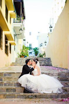 puerto rico wedding - bride and groom