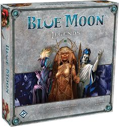 Blue Moon Legends - easy rules with advanced hand management for be the last who runs out some type of cards. => I'm still not sure about this game. Hand management is either hard or it is just luck and fraction based. For this reason we always end up playing more fun games like Summoner wars or Netrunner, and since we play it rarely, it is hard to findout if the game is brilliant or dull.
