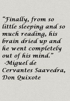 Don Quixote Quote