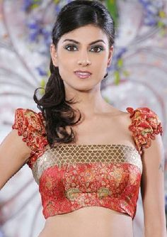 Latest Blouse Designs Of Indian Girls Images, Indian Traditional Saree Blouse New Design Photos | Latest Fashion and Technology