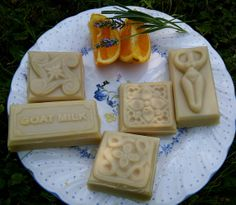 Goat milk soap with lavender and orange by creationsbycorina, $3.00