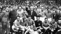 World Cup winners Italy 1938