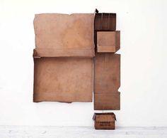 Robert Rauschenberg - carton boxes