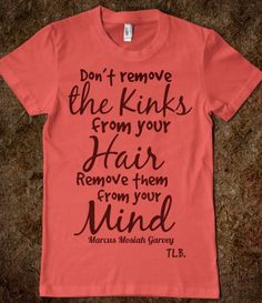 Don't remove the kinks from your by ThreeLittleBirdsTees on Etsy, $19.95