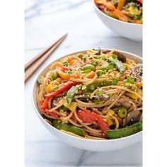 Why not try this #easy veggie lo mein #recipe from KD Contributor @well_plated for #dinnertonight? #regram #Chinese Reposted Via @lifestylecollective_
