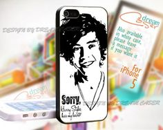 Harry Style Drawing - Print On Hard Case iPhone 5 Case