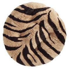 Papasan Stool Cushion - Zebra. I need this!! :D