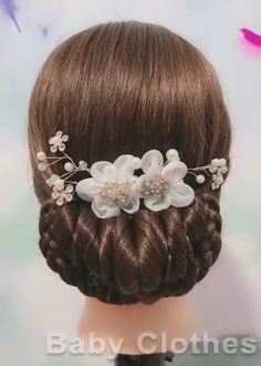 TOP 5 Easy Hairstyles Braids Summer 2020   Baby Clothes Easy Hairstyles For Long Hair, Up Hairstyles, Braided Hairstyles, Wedding Hairstyles, Hairstyle Ideas, Easy Elegant Hairstyles, Headband Hairstyles, Curly Hair Styles, Natural Hair Styles