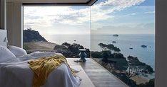 Οι κρεβατοκάμαρες στις οποίες θα θέλαμε να κοιμόμαστε - Τι λες τώρα; Deco Nature, Mom And Dad, Airplane View, Beautiful Homes, Relax, Places, Room, Design, Home Decor