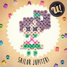 Sailor Jupiter hama beads by unipireu