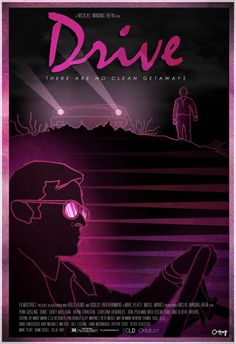 Drive Poster by Ollie Hoff, via Behance