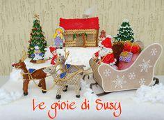 Ambientazione Villaggio di Natale