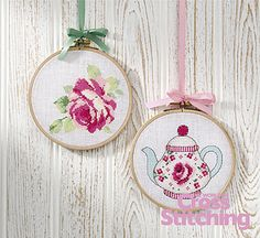 Coming up roses – vintage-style cross stitch ideas by The World of Cross Stitching, in the new-look bumper celebratory issue 200