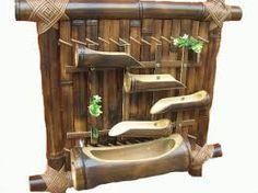 Risultati immagini per piccole fontane di bambu