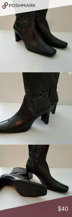 Bandolino black boots Good condition, black size 8 boots Bandolino Shoes Ankle Boots & Booties