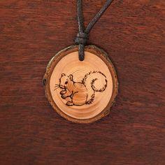 Oachkatzl - Ketten Holzschmuck aus Naturholz / Anhänger Pocket Watch, Abs, Accessories, Jewelry, Wood, Chains, Ear Piercings, Handmade, Wristlets
