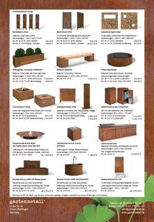 Gartenmetall Auszug Preisliste