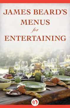 Culinary master James Beard's ultimate guide to entertaining is a must for any host or hostess Expert chef James Beard was passionate about food and even more passionate about entertaining. Beard's cookbooks, with recipes that have delighted for decades—such as duck glazed with honey and curry, and zucchini frittata—have long been a staple in the culinary libraries of home cooks. This thorough guide combines Beard's delicious menus with his expertise on hosting any event from an intimate…