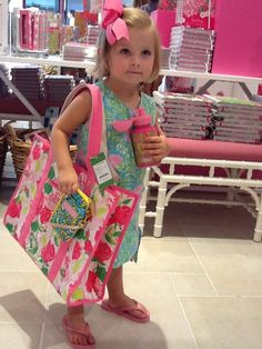 My future child... except not holding a Delta Zeta bag... it'll be Kappa Gamma, clearly.