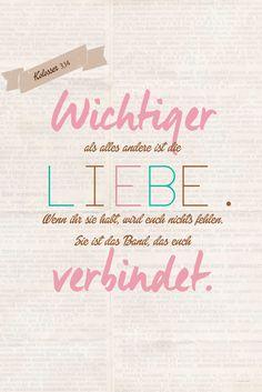 """Trausprüche & Zitate Hochzeit Liebe Glück """"Nun aber bleiben"""