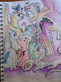 all my friends by Magikitty on DeviantArt