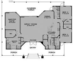 Florida Cracker House Plan chp-24541 at COOLhouseplans.com