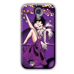Betty Boop Purple Ornaments Cases Note