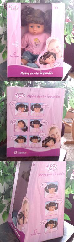 KIDZ ONLY Puppe - Meine erste Freundin. Die erste Puppe, für jedes kleine Mädchen etwas ganz Besonderes. Die Auswahl ist heute riesig, ob Kunststoff, weicher Körper, Klimperaugen, mit und ohne Haar...