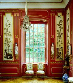 Ruth Burts Interiors:   CHINESE  PAVILION Drottningholm  Palace-1753  Rococo - Carl Fredrik Adelcrantz -  Drottningholm, Sweden