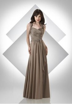 I could dig this for a bridesmaid dress... each gal in a different ...