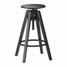 Great 2 At The Breakfast Bar + The One We Already Have): IKEA   DALFRED, Bar Stool,  You Can Adjust The Height As You Like.