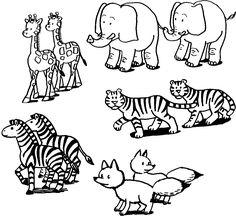 animais por pintar - Pesquisa Google