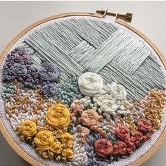 Roxanne, aka @ginniejune, is an HIV social worker by day, and an embroidery artist by night. I LOVE the interplay of texture, florals, and animals in her hoops. She hails from Minneapolis, which gives me a sliver of hope that I'll be able to run into her at a local art show one day! I hope you all enjoy her account, I'm off to scroll through #embroideryinstaguild looking for more breathtaking embroidery art to feature! #embroidery #floralembroidery #minneapolisartist #womenartists #hoopart