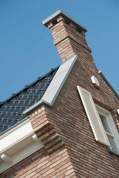 Klassiek stijlkenmerk in woningbouw, toepassing van aanzetstuk/schouderstuk