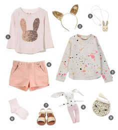 Some Bunny to Love | Little Gatherer. If I have a little girl on day, I will so be dressing her in outfits like this!