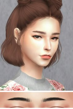 GPME F-Eyebrows 1 - Arched Eyebrows45 Swatches : Download  GPME F-Eyebrows 1 - Straight Eyebrows 45 Swatches : Download  GPME F-Eyebrows 1 - Upward Slanting Eyebrows 45 Swatches : Download  Thanks for all CC creators ❤  Thank for support me ❤  Hope you...