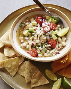 Chicken Posole from www.whatsgabycooking.com (@whatsgabycookin) #WaysToWOW