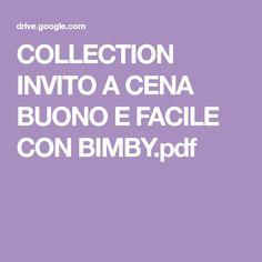 COLLECTION INVITO A CENA BUONO E FACILE CON BIMBY.pdf