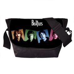 The Greatest Band The Beatles Prints Casual Messenger Bag Young Men Women Daily Bag Teenager Crossbody School Bags Gift Bags