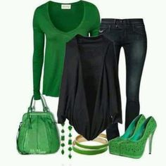 St. Patrick Day outfit