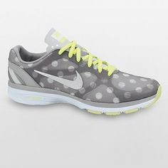 I have a thing for polka dots...I think I might need to go back and pick these cute shoes up. :)   Nike Dual Fusion TR High-Performance Cross-Trainers - Women