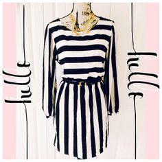 "Spotted while shopping on Poshmark: ""Bold & Chic Striped Dress""! #poshmark #fashion #shopping #style #Dresses & Skirts"