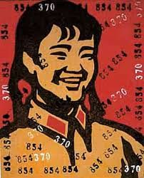 pop artist wang guangyi pictures - Google Search Chinese Painting, Chinese Art, Art Chinois, Drawing Sketches, Drawings, Typography Art, Old Art, Contemporary Paintings, Art Museum