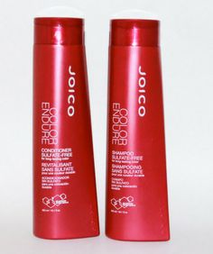 Joico Color Endure Shampoo and Conditioner review :: sounds promising, both are sulfate free