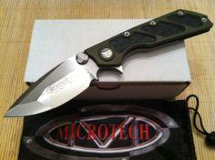 Microtech DOC Framlelock Knife Satin S30V Blade Marifone Strider OG Green