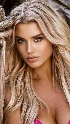 Beauty Full Girl, Beauty Women, Beautiful Blonde Girl, Stunning Eyes, Light Hair, Woman Face, Most Beautiful Women, Pretty Face, Pretty Woman